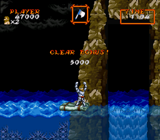 Super Ghouls'n Ghosts (Europe)-1